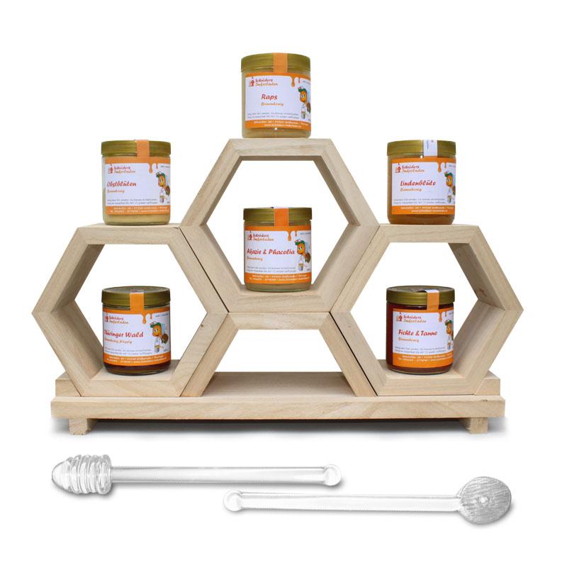 Honig servieren