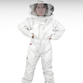 Bieno®Protect Kinder-Schutzanzug, Weiß, 110/116