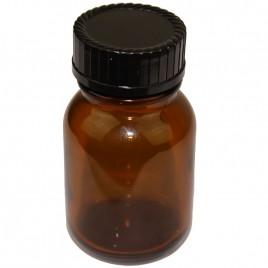 Braune Weithalsgläser 50 ml