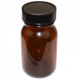 Braune Weithalsgläser 100 ml