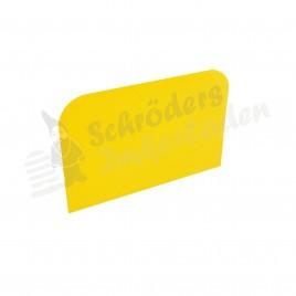 Teigschaber gelb
