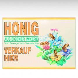 """Werbeschild Imker """"Flores"""", 68 x 48 cm"""