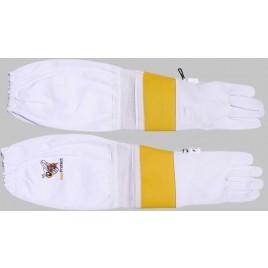 Optimal belüftete Ziegenlederhandschuhe
